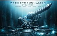 La copertina di Prometheus to Alien Evolution - Deluxe (blu-ray)