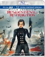 La copertina di Resident Evil: Retribution 3D (blu-ray)