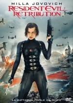 La copertina di Resident Evil: Retribution (dvd)