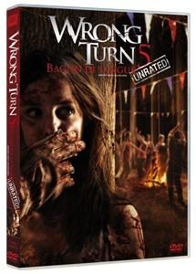 La copertina di Wrong Turn 5 - Bagno di sangue (dvd)