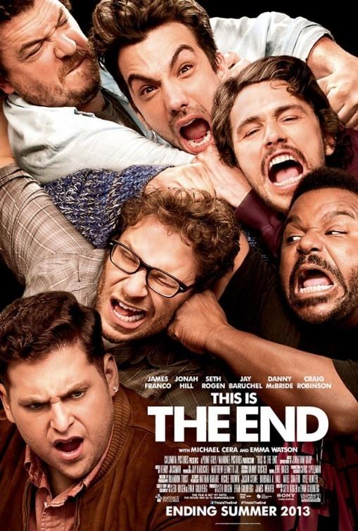 This Is the End: la locandina del film