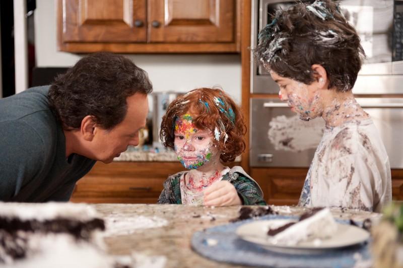Billy Crystal è nonno Artie in Parental Guidance con Kyle Harrison Breitkopf e Joshua Rush