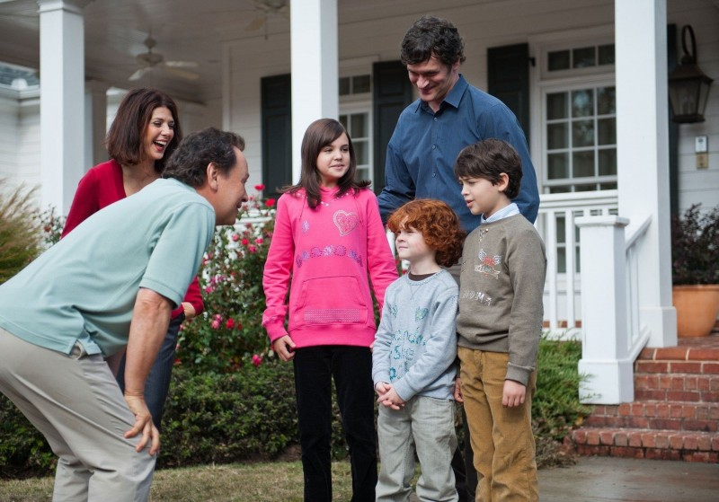 Billy Crystal, Marisa Tomei e Tom Everett Scott  in Parental Guidance con Joshua Rush, Bailee Madison, Kyle Harrison Breitkopf