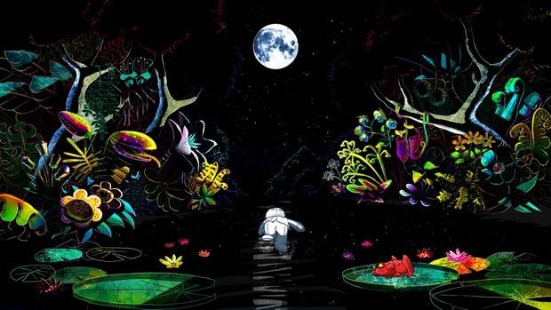 Jean de la Lune (Moon Man) una scena del film d'animazione