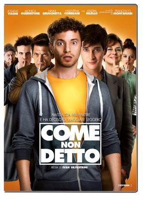 La copertina di Come non detto (dvd)