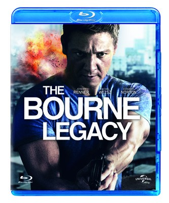 La copertina di The Bourne Legacy (blu-ray)