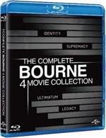 La copertina di The Complete Bourne 4 Movie Collection (blu-ray)