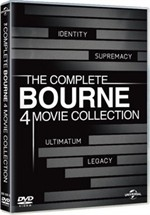 La copertina di The Complete Bourne 4 Movie Collection (dvd)