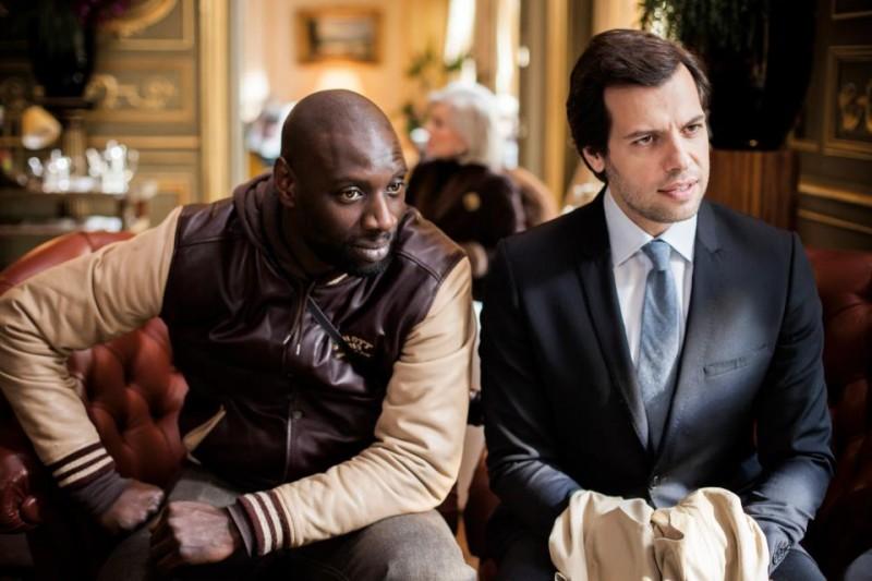 Omar Sy e Laurent Lafitte in De l'autre côté du périph