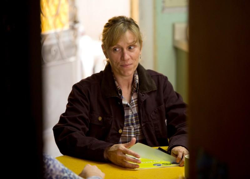 Promised Land: Frances Mcdormand in una scena del film