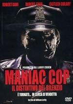 La copertina di Maniac Cop 3: Il distintivo del dilenzio (dvd)