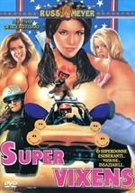 La copertina di Super vixens (dvd)