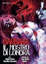 La copertina di Barbara il mostro di Londra (dvd)