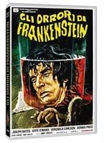 La copertina di Gli orrori di Frankenstein (dvd)