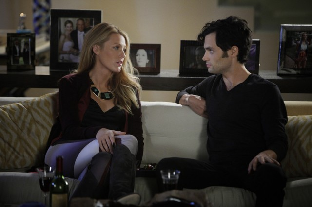 Gossip Girl: Blake Lively e Penn Badgley nell'episodio Where the Vile Things Are