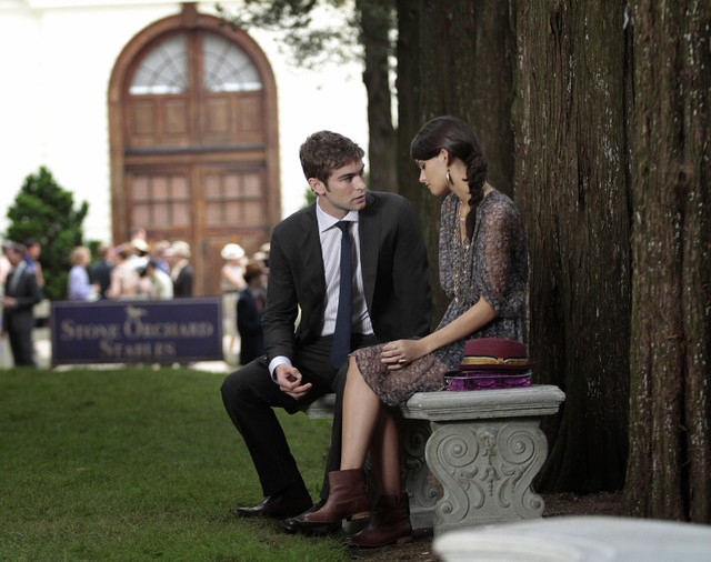 Gossip Girl: Chace Crawford e Sofia Black-D'Elia nell'episodio Portrait of a Lady Alexander