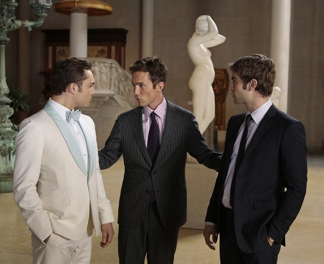 Gossip Girl: Ed Westwick, Desmond Harrington e Chace Crawford nell'episodio finale New York, I Love You XOXO