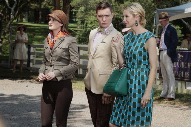 Gossip Girl: Leighton Meester, Ed Westwick e Kelly Rutherford nell'episodio Portrait of a Lady Alexander