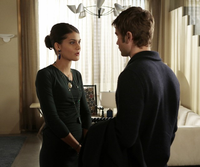 Gossip Girl: Sofia Black-D'Elia e Chace Crawford nell'episodio It's Really Complicated