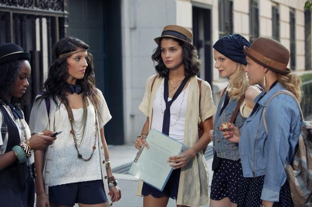Gossip Girl: Sofia Black-D'Elia in una scena dell'episodio High Infidelity