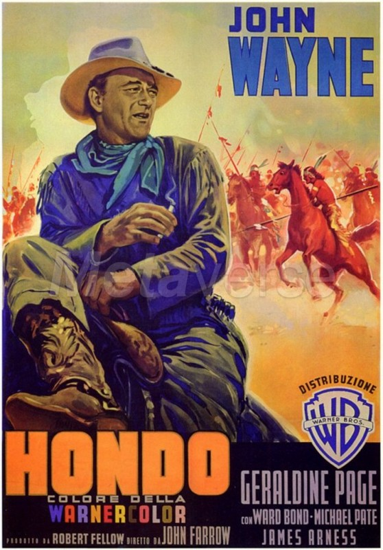 Hondo: la locandina del film
