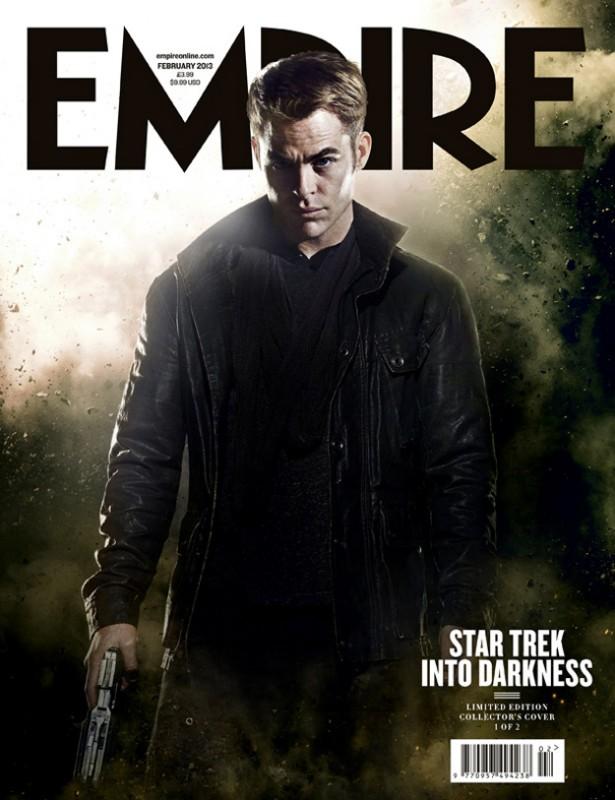 Into Darkness - Star Trek: la copertina di Empire dedicata a Chris Pine