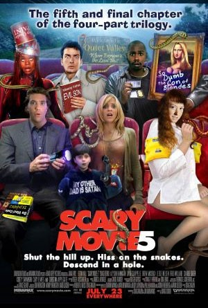 Scary Movie 5: la locandina del film