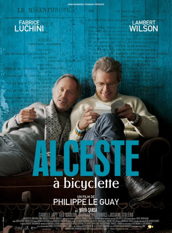 Alceste à bicyclette: la locandina del film