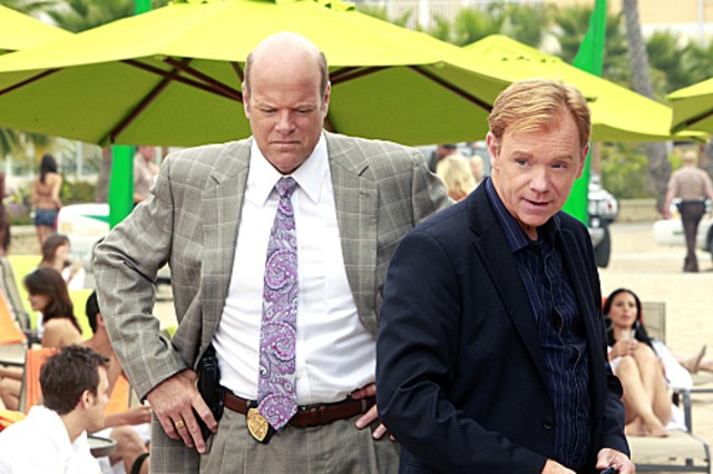 CSI Miami: David Caruso e Rex Linn nell'episodio Alla lettera della decima stagione