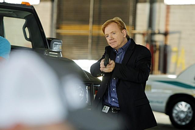 CSI Miami: David Caruso in una scena dell'episodio Il killer leggendario, della decima stagione