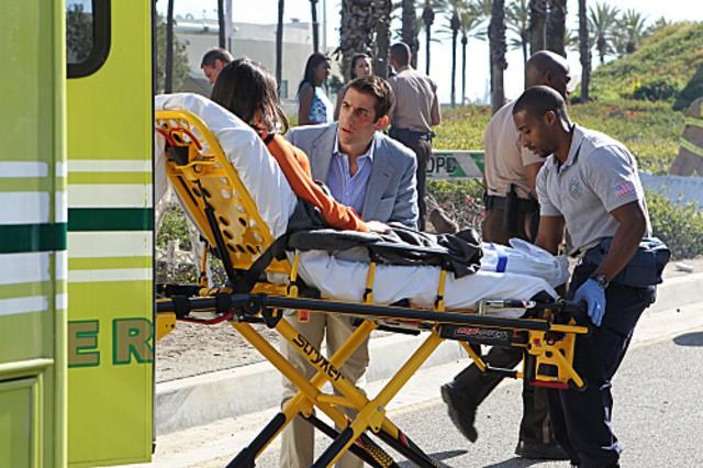 CSI Miami: Jonathan Togo in una scena dell'episodio Habeas Corpse della decima stagione