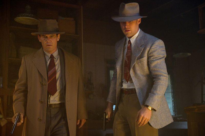 Gangster Squad: Ryan Gosling e Josh Brolin in una scena del film