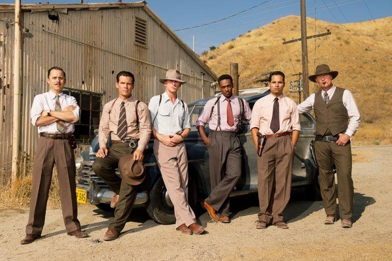 Gangster Squad: una foto di gruppo per il cast maschile del film
