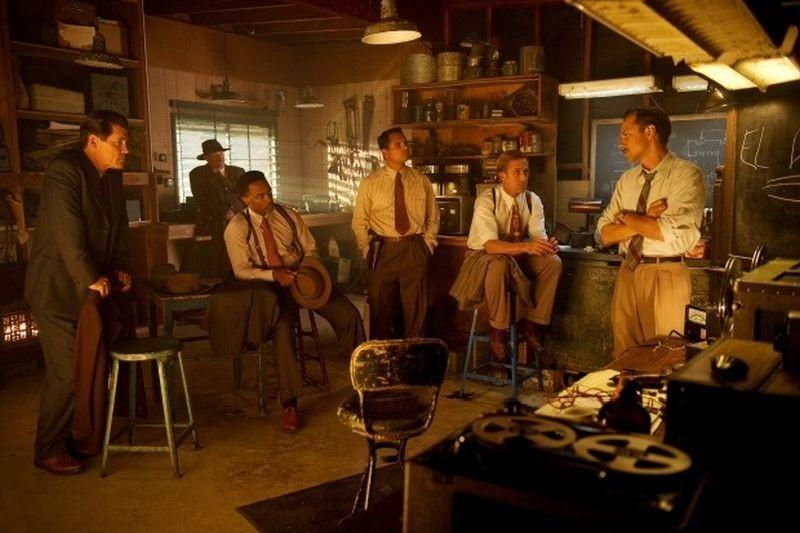 Gangster Squad: una scena di gruppo tratta dal film