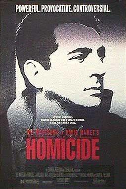 Homicide: la locandina del film