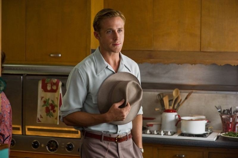 Ryan Gosling nei panni del Sergente Jerry Wooters in una scena di Gangster Squad