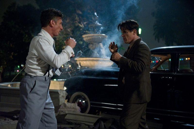 Sean Penn fa a pugni con Josh Brolin in Gangster Squad