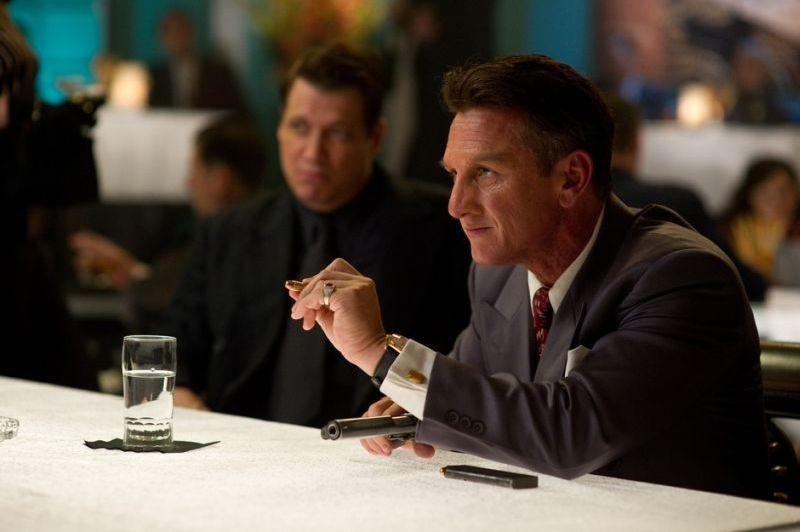 Sean Penn in una scena di Gangster Squad