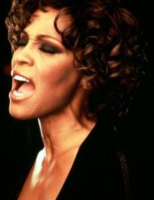 una splendida Whitney Houston