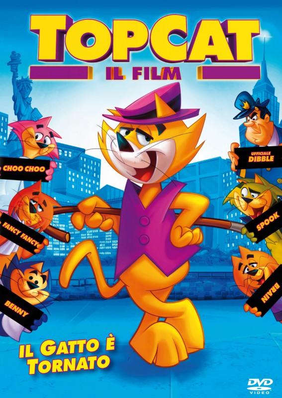 La copertina di Top Cat (dvd)