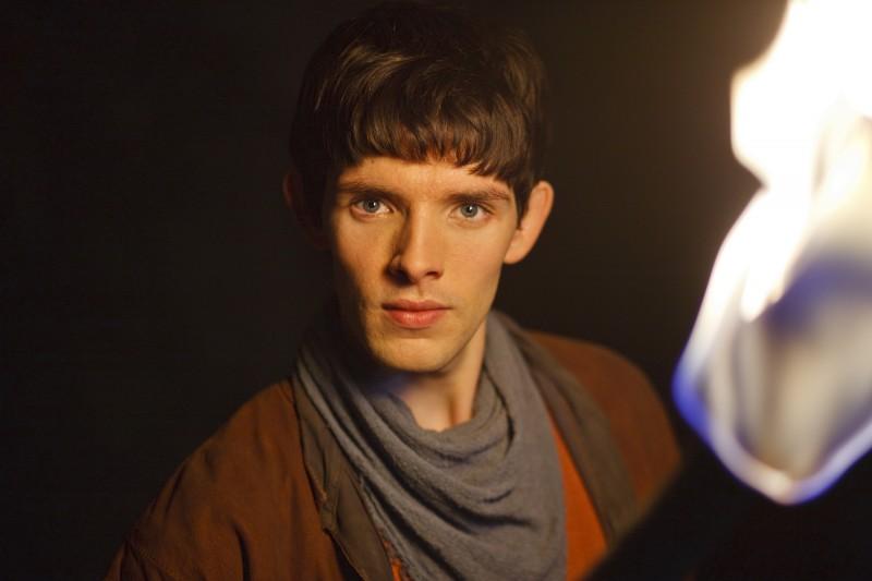 Merlin: Colin Morgan in una scena dell'episodio La morte di Artù, della prima stagione