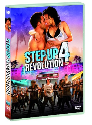 La copertina di Step Up 4 Revolution (dvd)