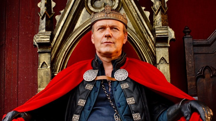 Merlin: Anthony Head in una scena dell'episodio I peccati del padre, della seconda stagione