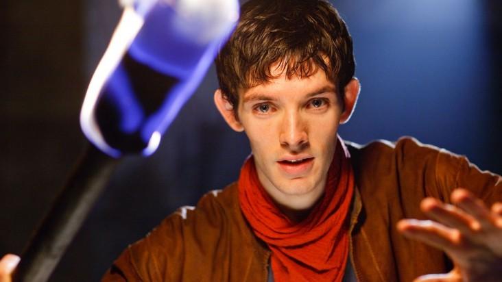 Merlin: Colin Morgan in una scena dell'episodio I peccati del padre, della seconda stagione