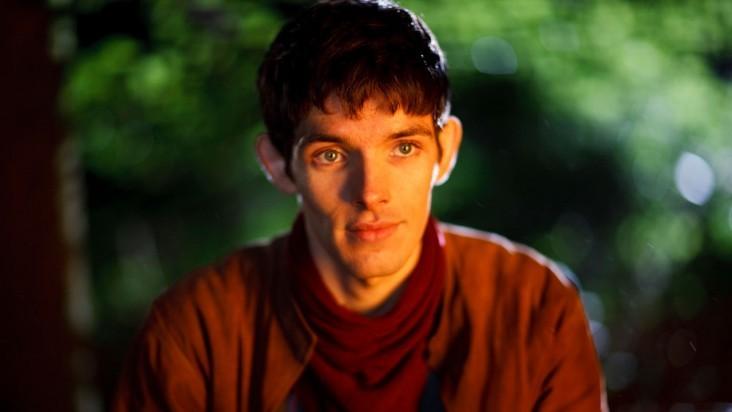 Merlin: Colin Morgan in una scena dell'episodio L'ultimo signore dei draghi, della seconda stagione