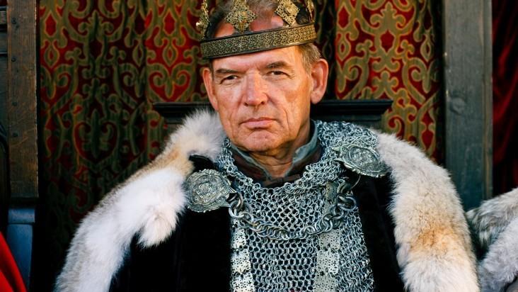 Merlin: David Schofield in una scena dell'episodio Sogni dolci, della seconda stagione
