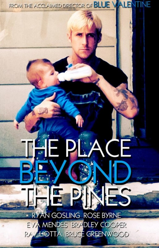 The Place Beyond the Pines: la locandina del film