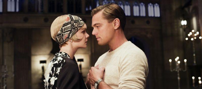 una sensuale immagini di Leonardo DiCaprio e Carey Mulligan in The Great Gatsby
