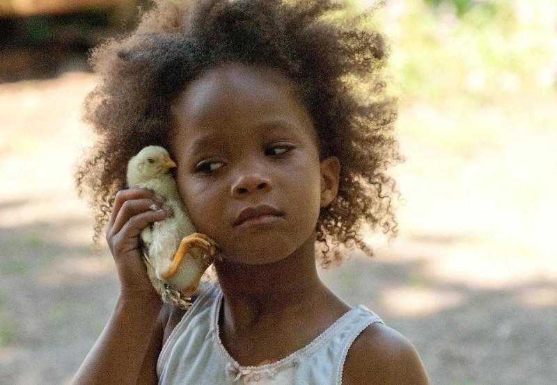 Beasts of the Southern Wild: la giovane Quvenzhané Wallis in una scena