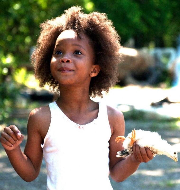 Beasts of the Southern Wild: la giovane Quvenzhané Wallis protagonista del film in una scena